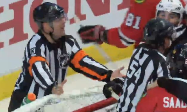 NHL Refs Mic'd Up: Dan O'Halloran at Ducks/Hawks Game 3