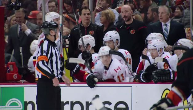 Ref Brad Watson Mic'd Up For Ducks/Flames Game 5