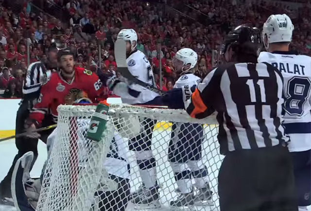 Ref Kelly Sutherland Mic'd Up for Stanley Cup Final Game 4