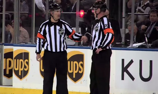 Tonight's NHL Referees & Linesmen – 11/21/15