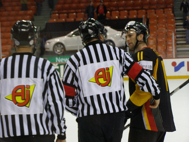 Today's World Juniors Referees & Linesmen – 12/26/15