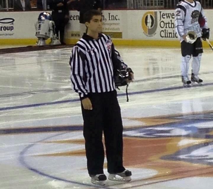 ECHL Mourns Loss of Linesman Camden Nuckols