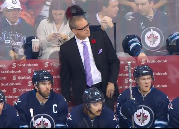 Winnipeg Jets head coach Paul Maurice