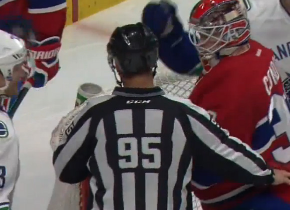 Tonight's NHL Referees & Linesmen – 11/28/15