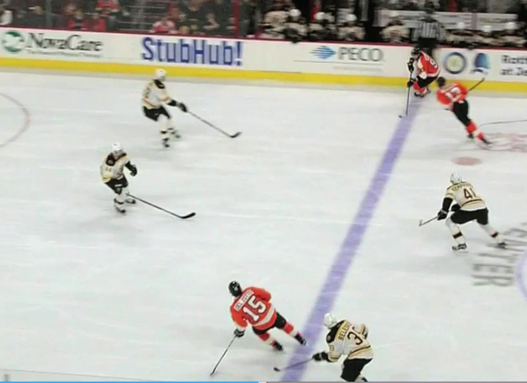 Flyers' Simmonds Has Goal Challenged for Offside