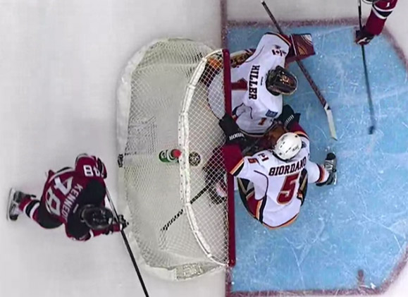 Flames' Challenge Unsuccessful on Devils' Game-Winning Goal