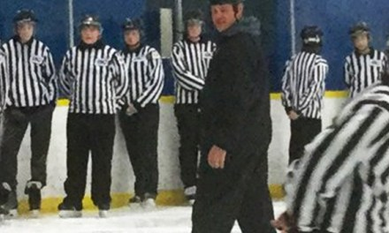 NHL Referee Hanson Hosts BC Officiating Clinic