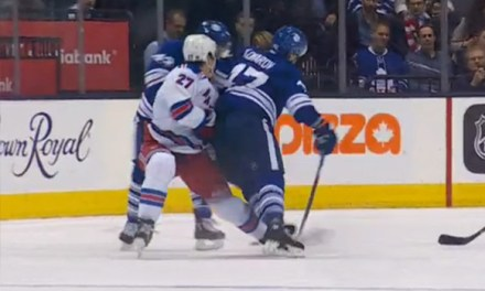 Leafs' Komarov Suspended 3 Games for Hit on Rangers' McDonagh