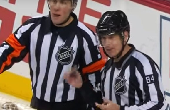 Linesman's Frozen Whistle Delays Game