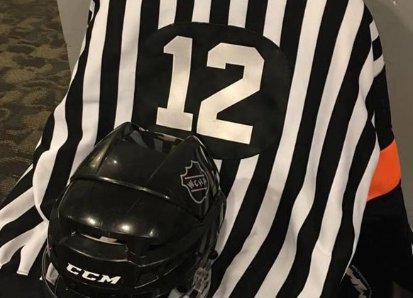 Referee Butch Mousseau's Services Scheduled
