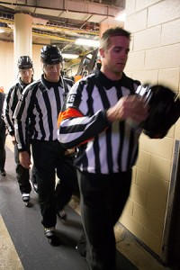 NHL Referee Dave Lewis