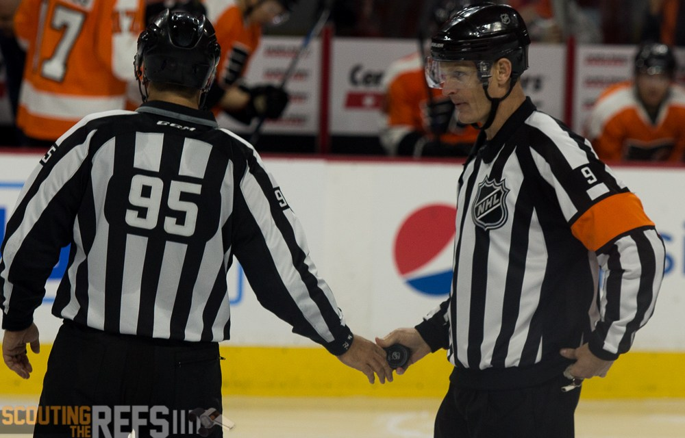 Tonight's NHL Referees & Linesmen – 4/7/16