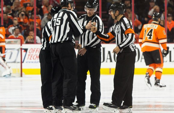 Tonight's NHL Referees and Linesmen – 3/16/18