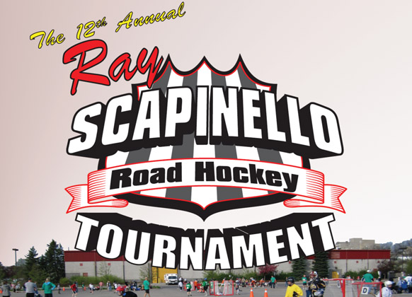 Linesman Ray Scapinello Hosting Road Hockey Tournament