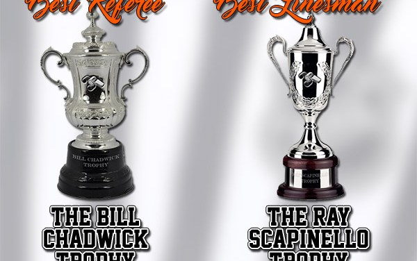 Congratulations to the 2015-16 Scouting the Refs Award Winners