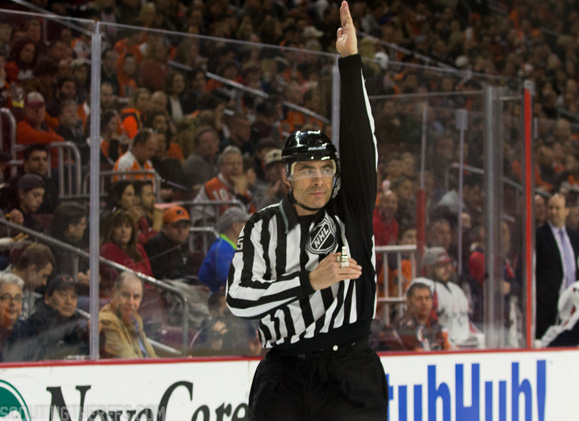 No Icing Late In Game One Was Right Call by Linesmen