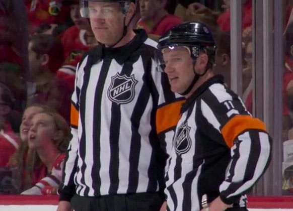 Mic'd Up: Referee Kelly Sutherland at Blues/Blackhawks Game 6