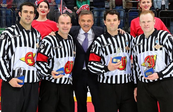 IIHF Referee Roman Gofman on Working the World Championships Final