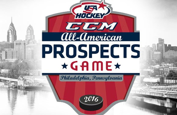 Referees and Linesmen for CCM/USA Hockey All-American Prospects Game