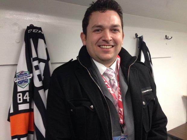 AHL Referee Jamie Koharski (Photo: AHL)