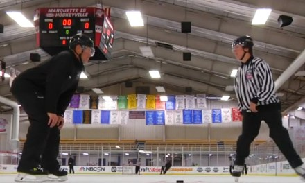 NHL Officials Host Hockeyville USA Ref Clinic in Marquette