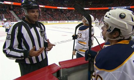 Tonight's NHL Referees & Linesmen – 10/30/16