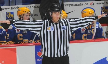Linesman Bevan Mills to Make NHL Debut