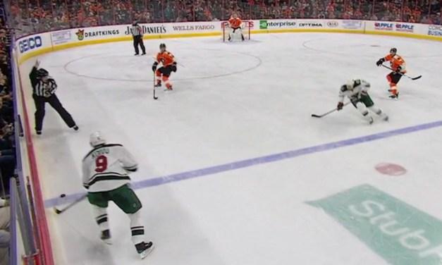 Wild Goal Ruled Onside After Flyers Challenge