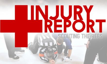 NHL Officials Injury Report – 12/14