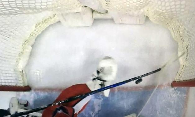Crossbar Camera Confirms Flyers Goal