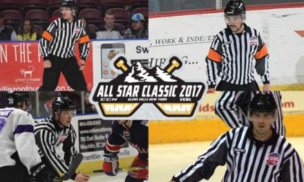 Today's ECHL All-Star Refs & Linesmen – 1/18/17