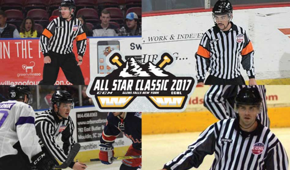 ECHL Names Officials for 2017 All-Star Game