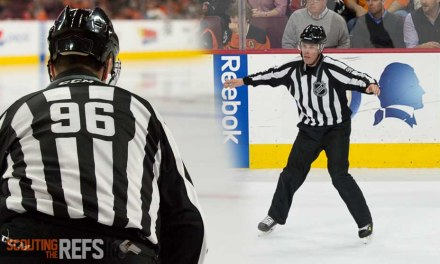 Linesman David Brisebois Hits 1000 Games