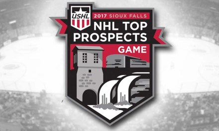 USHL/NHL Top Prospects Game Referees and Linesmen