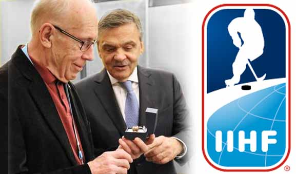 IIHF Recognizes Bob Nadin on 45 Years as Referee, Supervisor