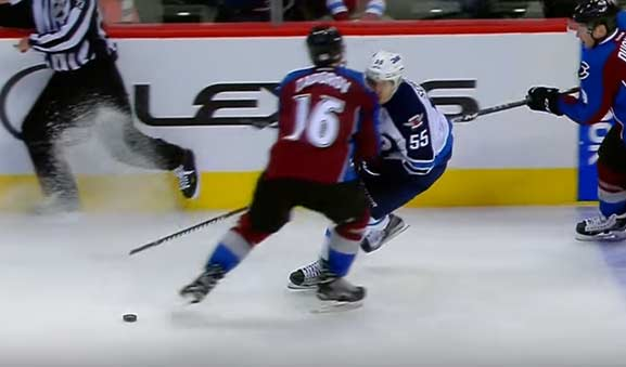No Suspension Expected for Avs' Zadorov After Hit on Jets' Scheifele