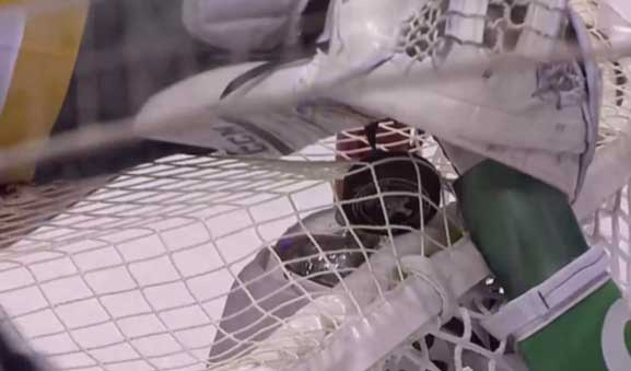 Pens' Fleury Obscures Evidence From Refs After Blue Jackets Score