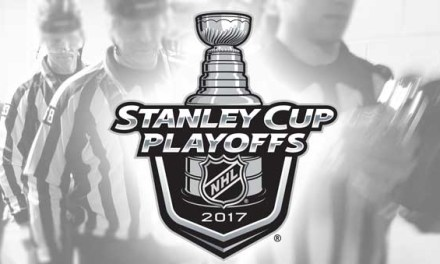 NHL Referees and Linesmen for 2017 Conference Finals