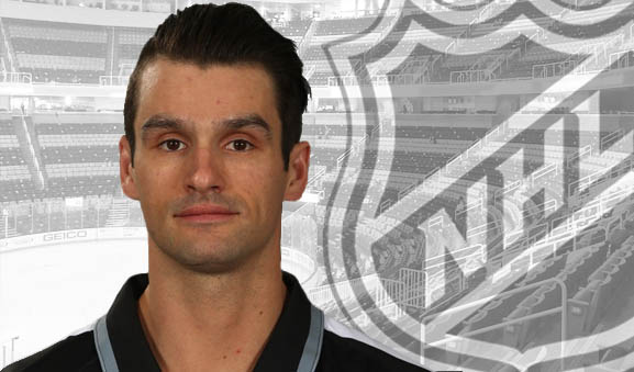 Linesman Travis Gawryletz to Make NHL Debut at Bolts/Sharks