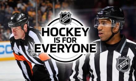 NHL Names Officials Jackson, Alphonso as 'Hockey is for Everyone' Ambassadors