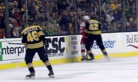 Bruins' Backes Banned for 3 Games for Interference