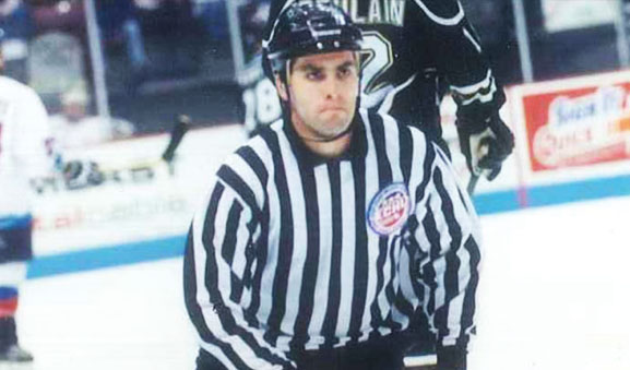 ECHL Linesman Terry Wicklum to Work 900th Game