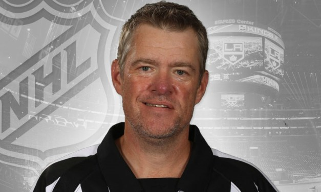 Referee Dave Jackson Hangs Up Skates After 25 Years