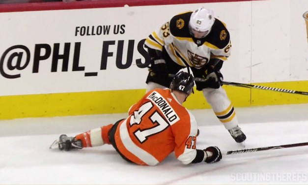 Bruins' Marchand Fined $5000 for Cross-Checking