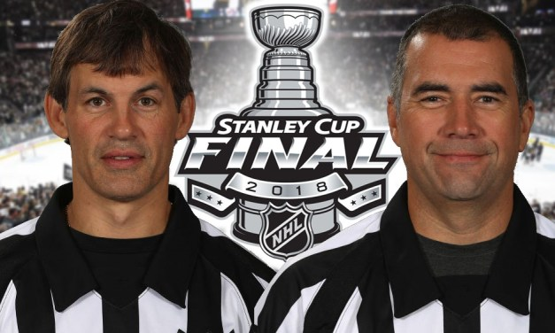 Tonight's NHL Stanley Cup Final Game 1 Referees and Linesmen – 5/28/18