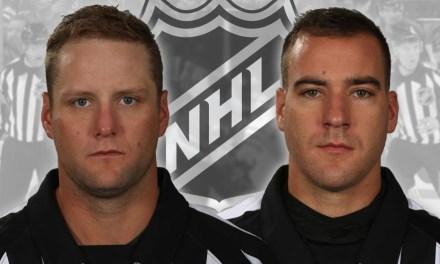 NHL Promotes Referees Schlenker, Lambert