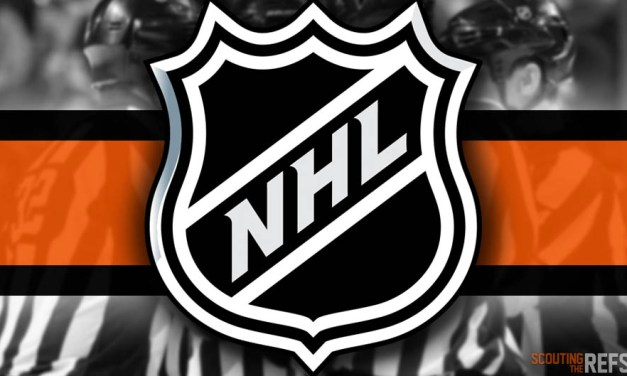Tonight's NHL Referees and Linesmen – 10/17/18