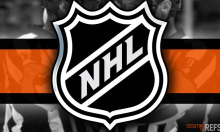 Tonight's NHL Referees and Linesmen – 10/15/2019