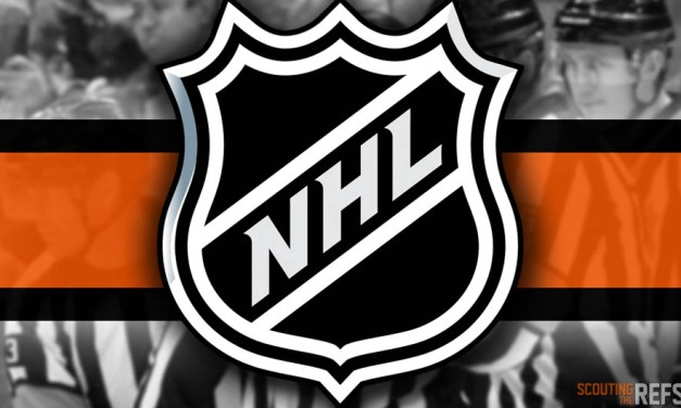 Tonight's NHL Referees and Linesmen – 12/10/18