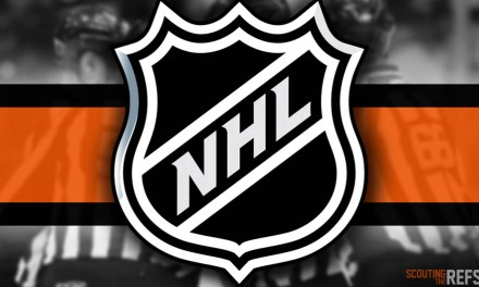 Tonight's NHL Referees and Linesmen – 10/31/2019